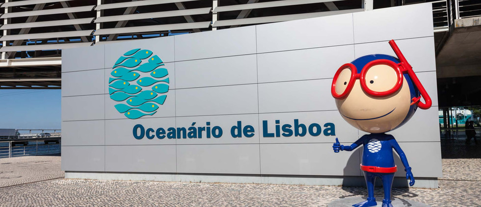 Canva - The Lisbon Oceanarium in Portuga