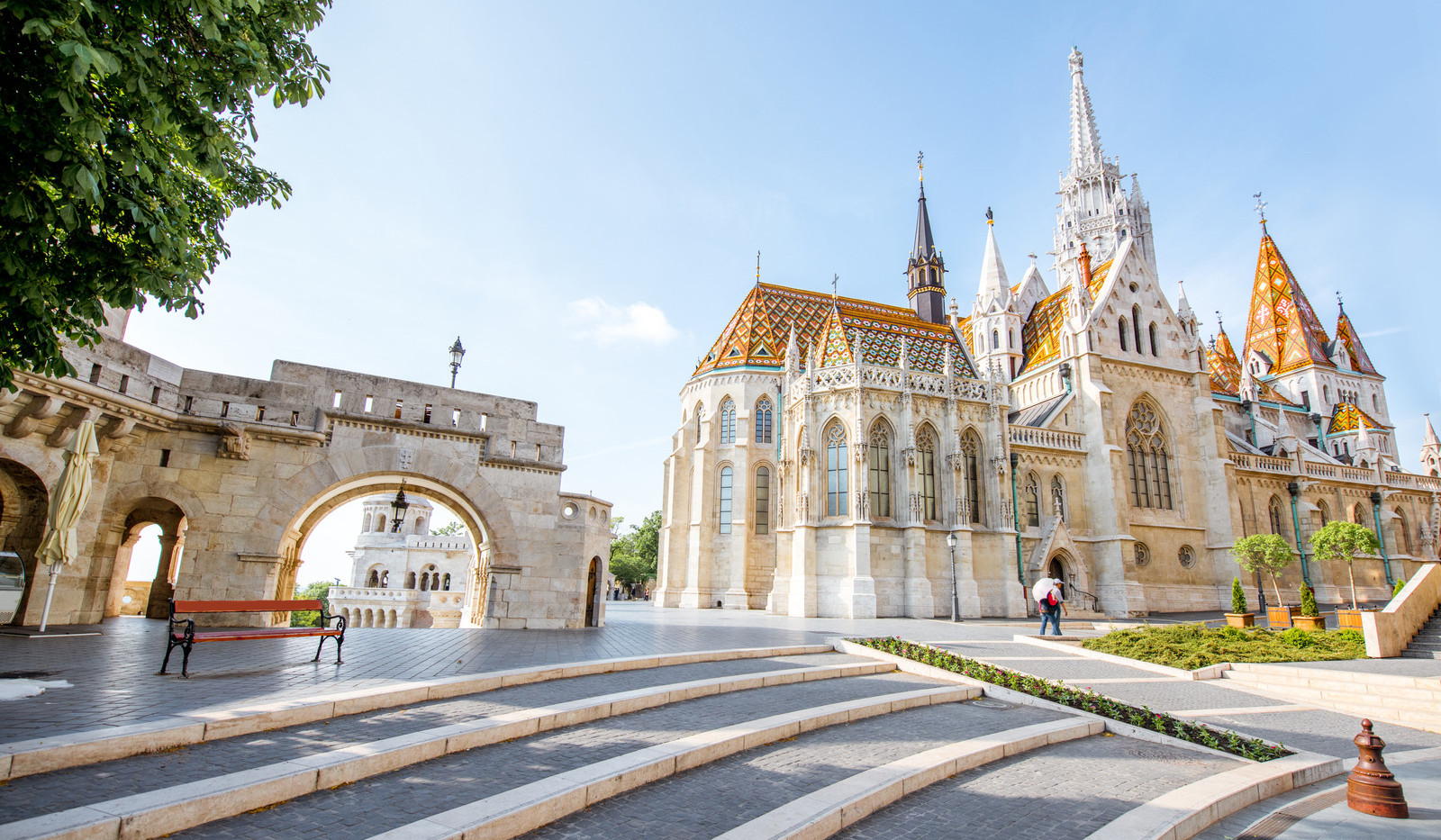 Canva - Fisherman's Bastion in Budapest.