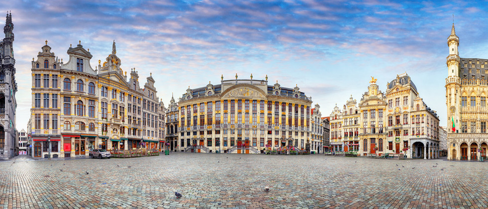 Canva - Brussels at day, nobody, Belgium