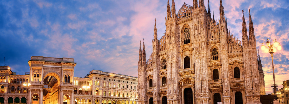 Canva - Milan Cathedral on sunrise, Ital