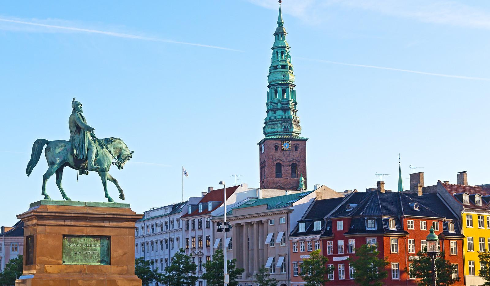 Canva - Equestrian statue of Frederik VI