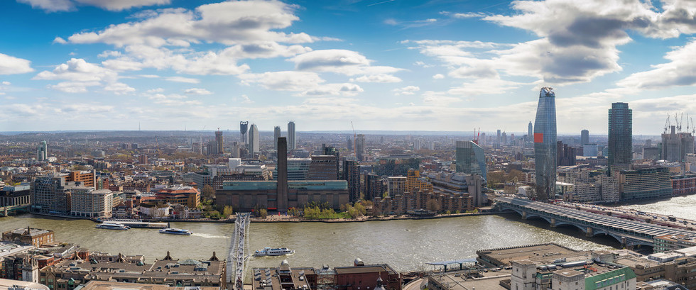 Canva - Panoramic view over the skyline