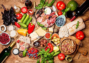 Canva - Top view table full of food.jpg