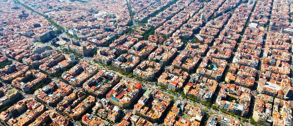 Canva - Aerial view of   Barcelona, Cata