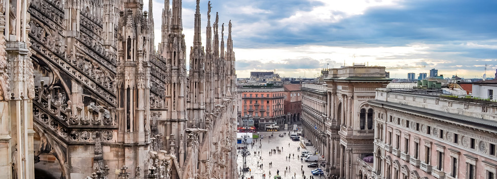 Canva - Milan cityscape from top of Mila