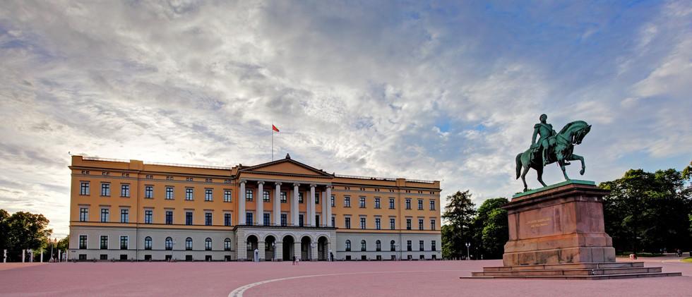 Canva - Royal Palace (Slottet) in Oslo,
