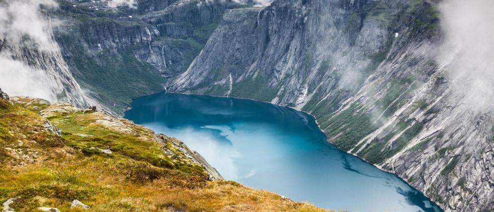 Canva - Beautiful norwegian landscape wi