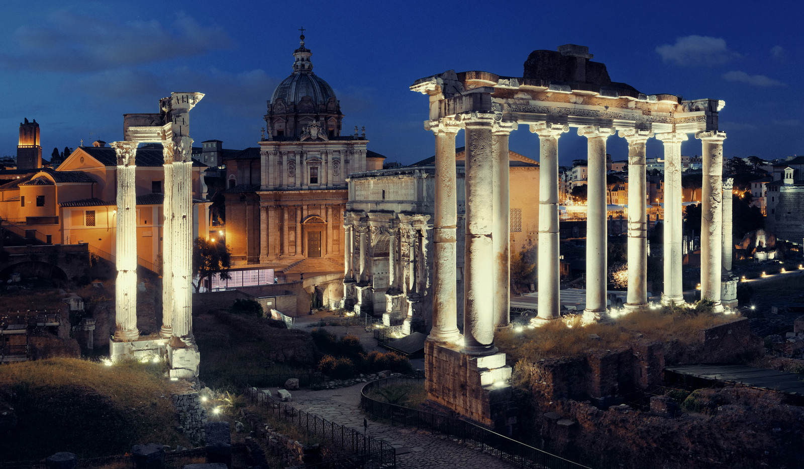 Canva - Rome Forum Night.jpg