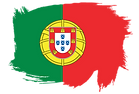 Portugal-flag-paint-publicdomainvectors.