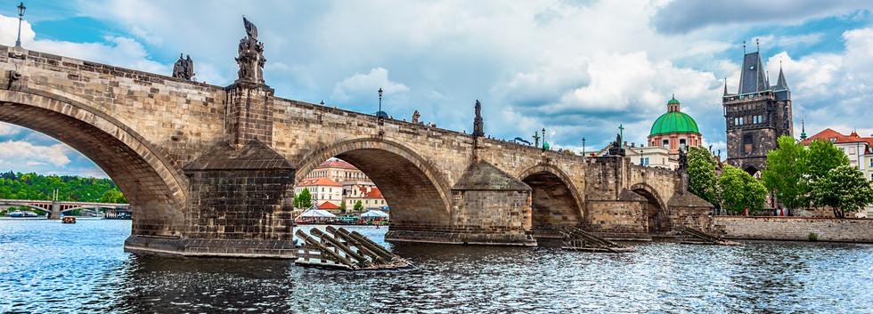 Canva - Charles Bridge, Prague, Czech Re