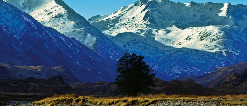 Canva - Faochag & The Saddle Glen Shiel