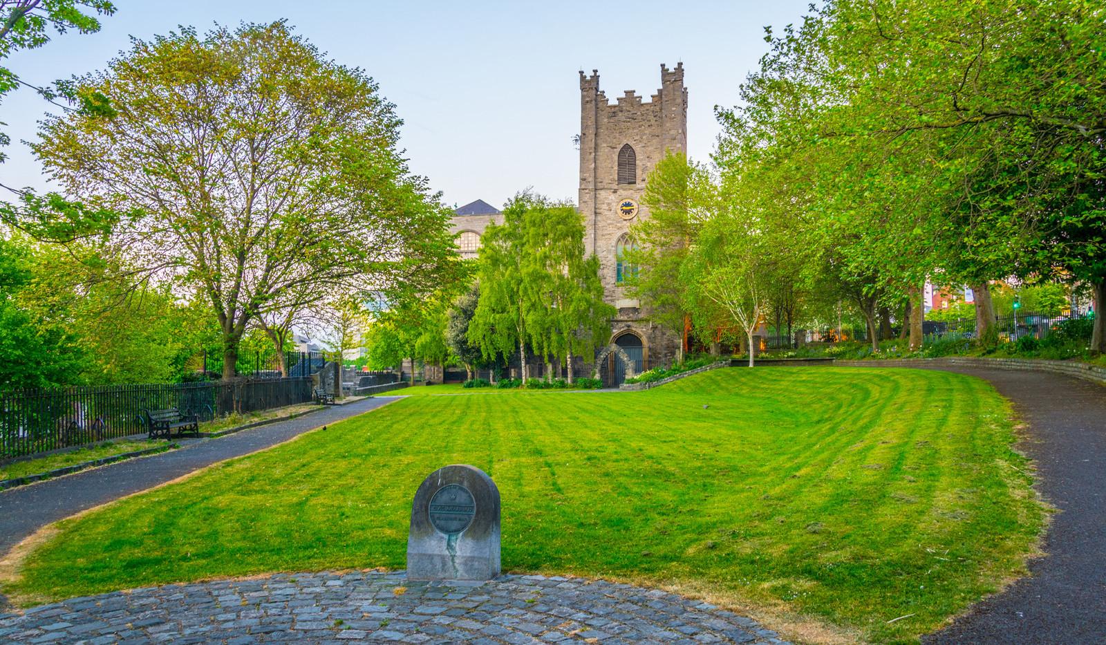 Canva - Saint Audoen church in Dublin, I