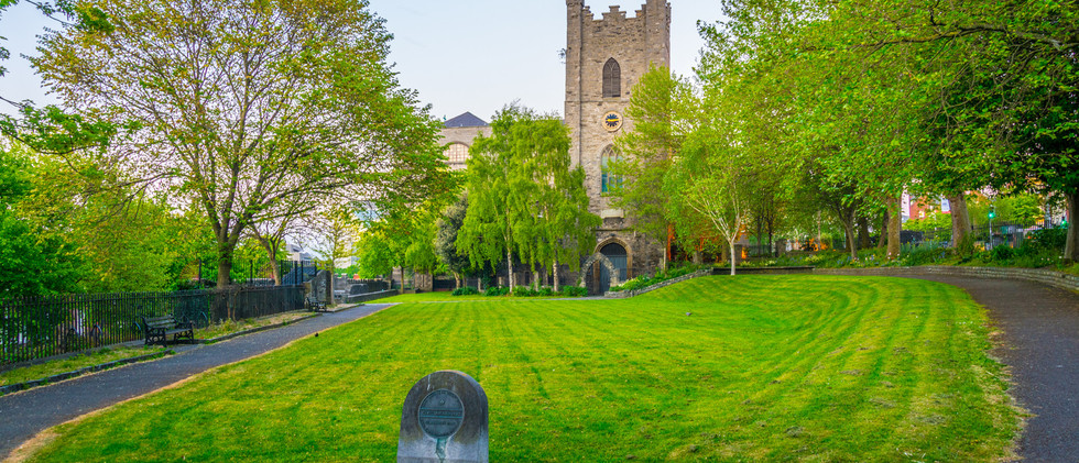 Canva - Saint Audoen church in Dublin, I