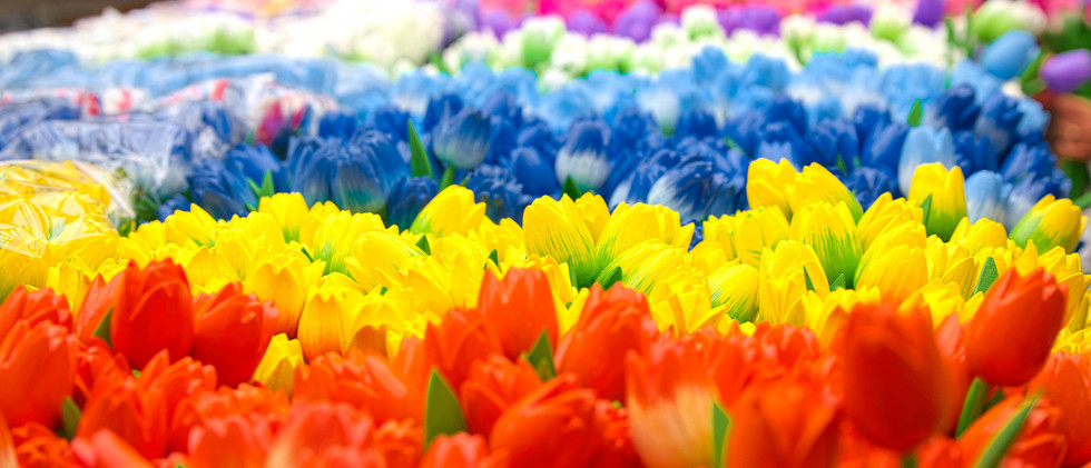Canva - Wooden tulips in Bloemenmarkt (A