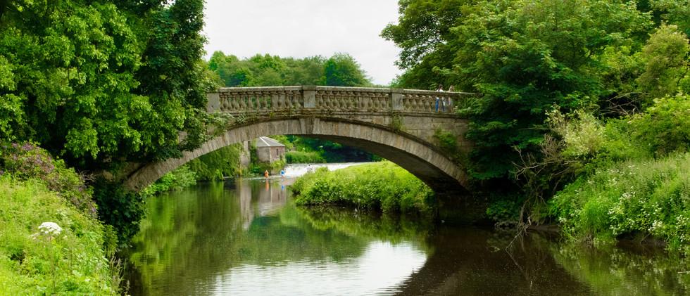 Canva - Stone bridge over the White Cart