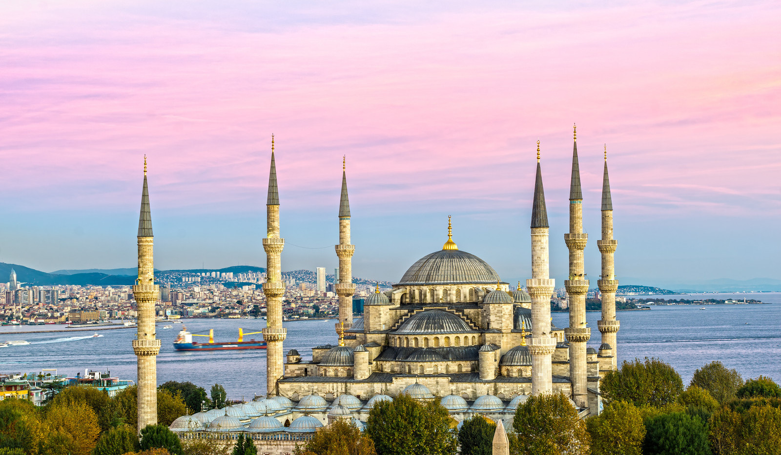 Canva - The Blue Mosque, Istanbul, Turke