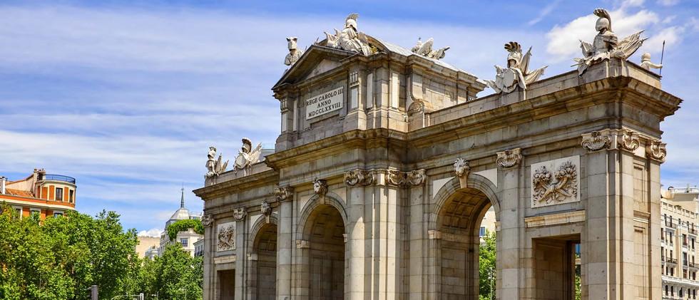 Canva - Madrid, Spain. Puerta-de-Alcala