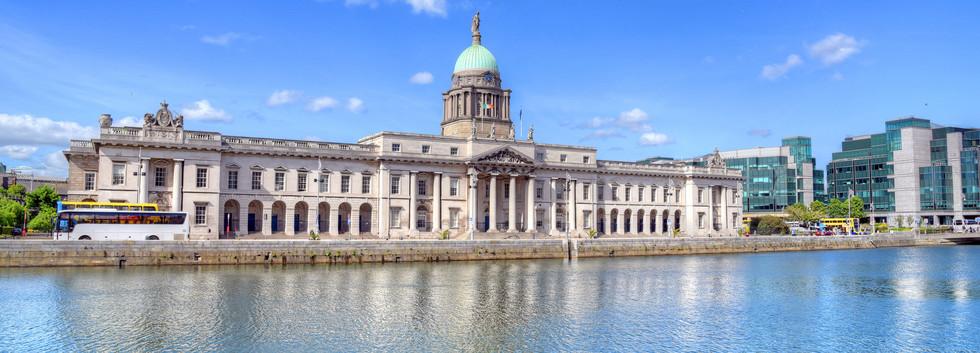 Canva - The Custom House in Dublin, Irel