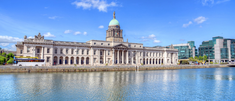 Canva - The Custom House in Dublin, Irel