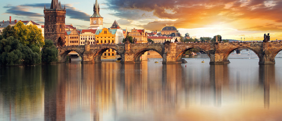 Canva - Prague - Charles bridge, Czech R