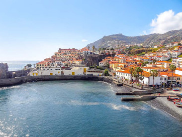Funchal in Madeira.