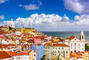 Alfama Lisbon Cityscape.