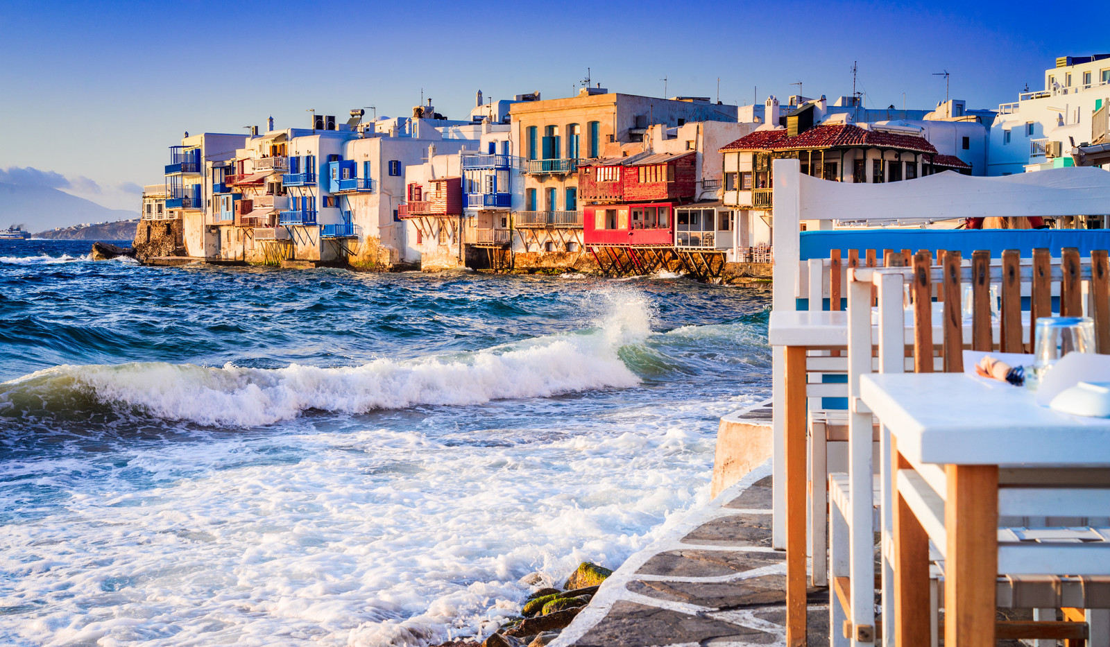 Canva - Mykonos, Greek Islands - Greece.