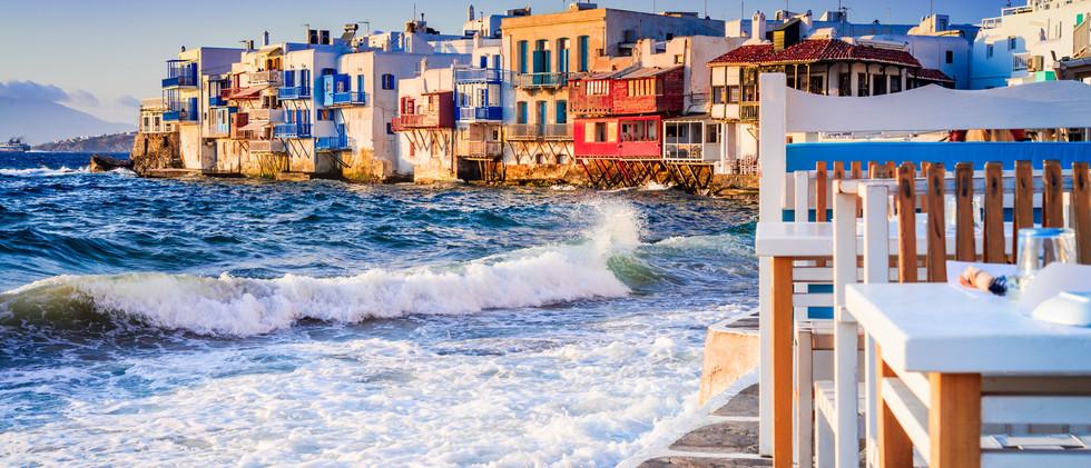 Canva - Mykonos, Greek Islands - Greece.