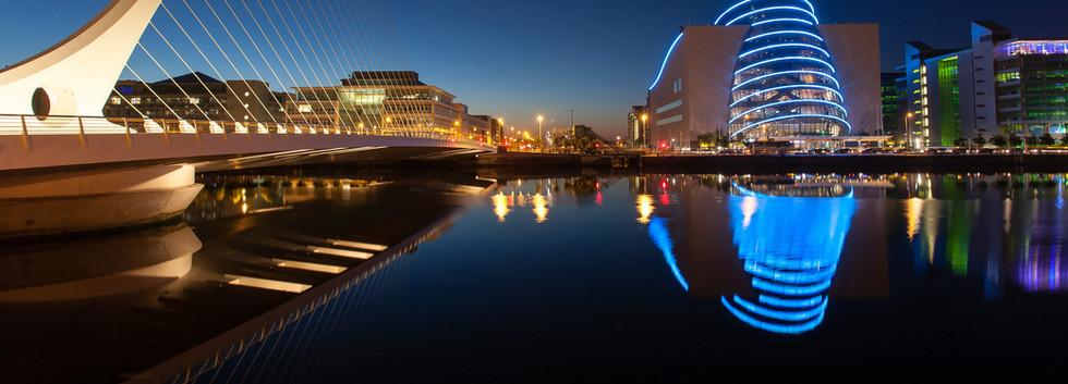 Canva - Samuel Beckett Bridge and Conven