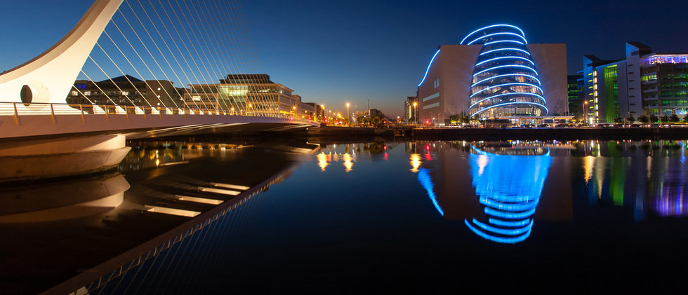 Canva - Samuel Beckett Bridge and Conven