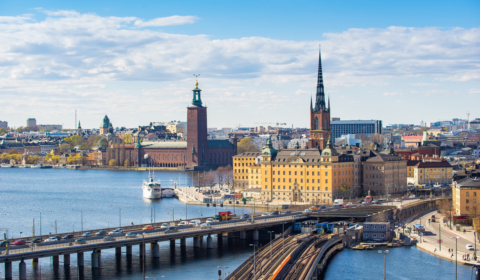 Canva - Cityscape of Stockholm old town