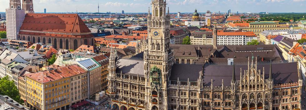 Canva - Munich city skyline at Marienpla