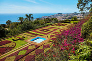 Famous Botanical Garden in Funchal.