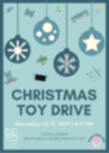 DEC 2019 Blue Christmas Food Drive Flyer