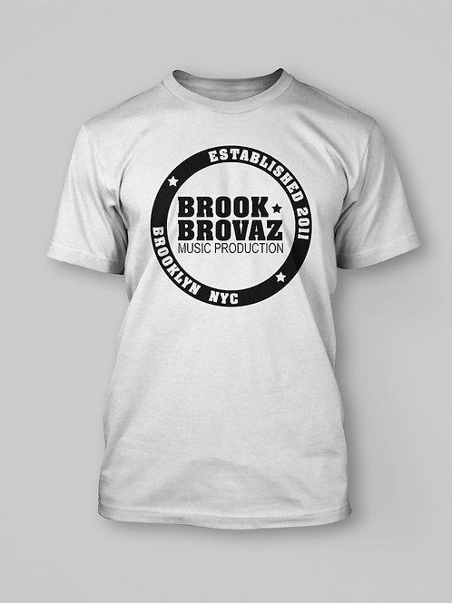 BROOK BROVAZ WHT T-SHIRT