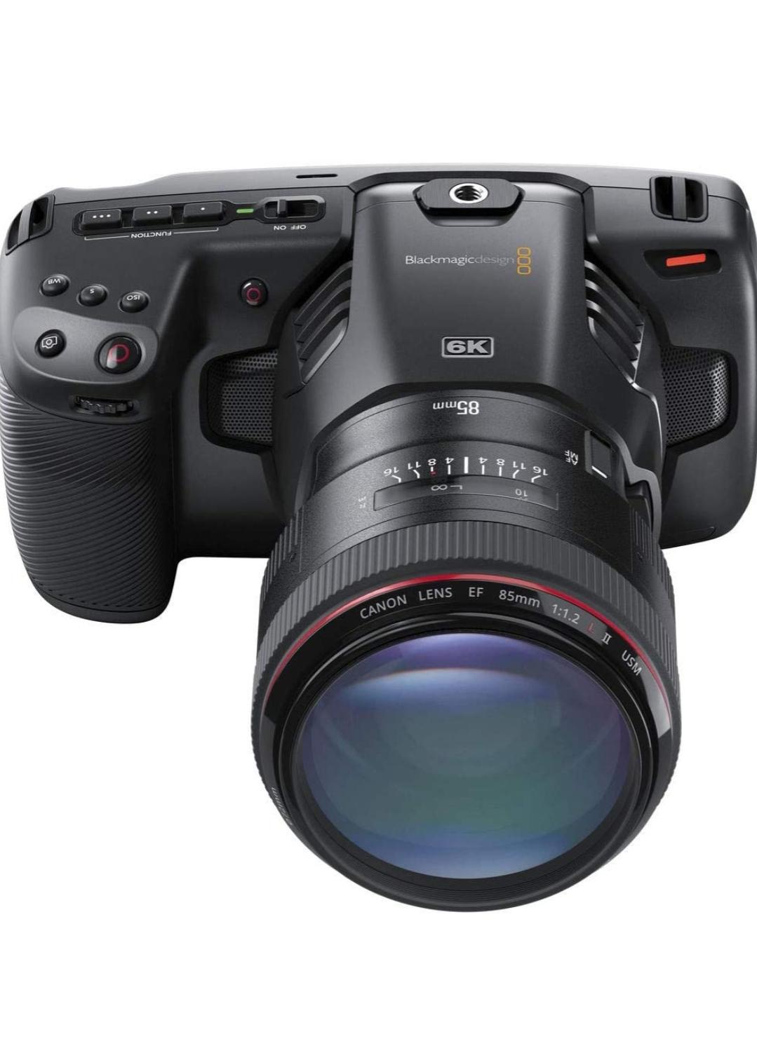 3 Blackmagic Design 6k Pocket Cinema Cameras