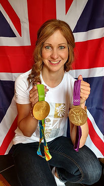 Joanna Rowsell Shand gold medals