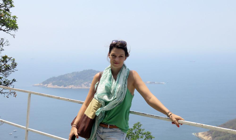 Nina no Rio de Janeiro - acervo pessoal