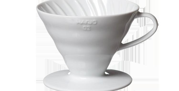 Hario V60 Ceramic White 02