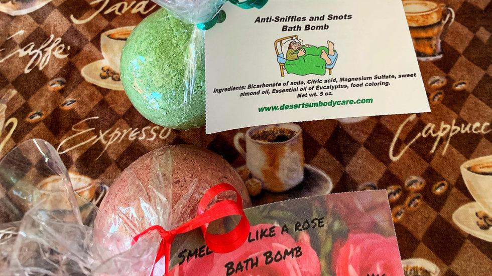 Moisturizing Bath Bombs