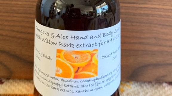 Omega-3 & Aloe Hand Soap