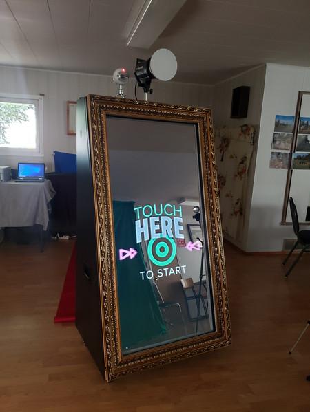 "GoodPic 65"" Magic Mirror Photo Booth"