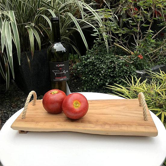 義大利 LA CASTELLINA 莊園 - 橄欖木方形砧板
