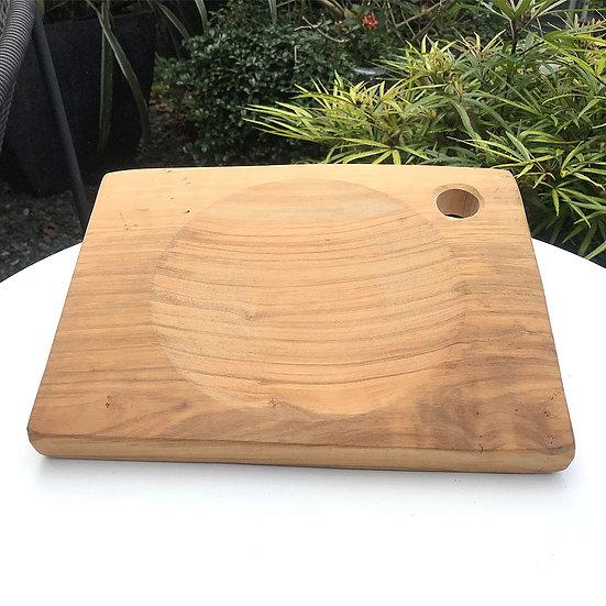 義大利 LA CASTELLINA 莊園橄欖木方形砧板