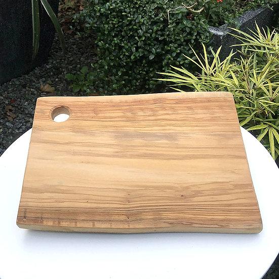 義大利 LA CASTELLINA 莊園 橄欖木方形砧板