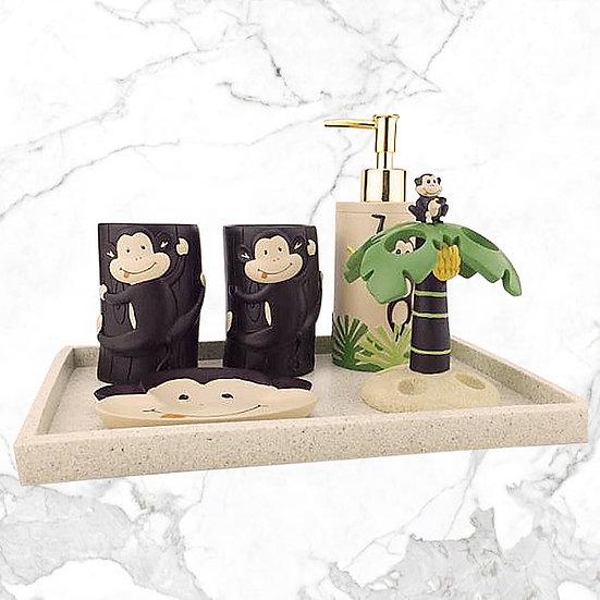 IMC-BAC04 愛寶寶衛浴套件五件組