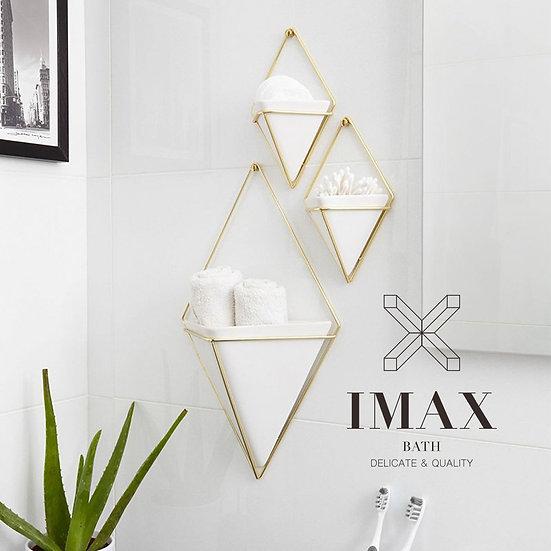 三角造型牆飾-三入