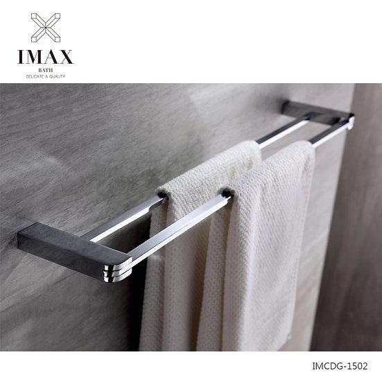 銅雙杆毛巾架 IMCDG-1502