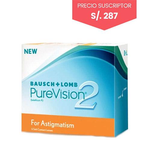 Pure Vision 2 - Astigmatismo