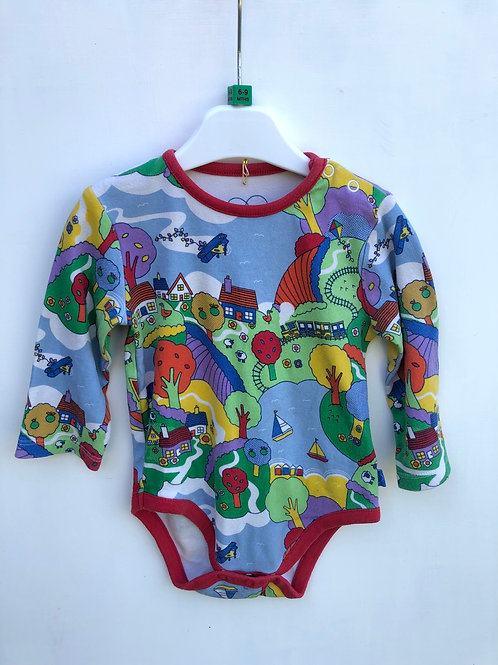 Little Bird long sleeved body 6-9 months